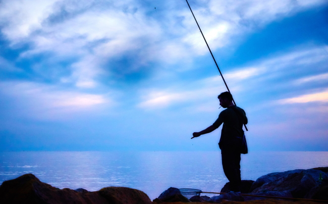 釣りの趣味